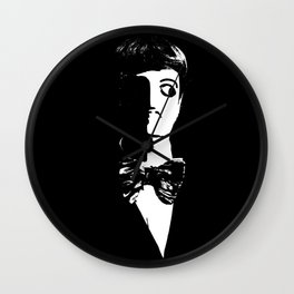 Art Deco Man -  Sin City Style Wall Clock