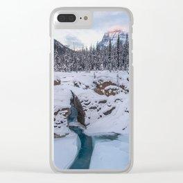 Natural Bridge Clear iPhone Case