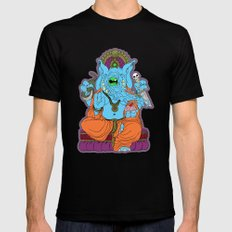 Ganesha Mens Fitted Tee MEDIUM Black