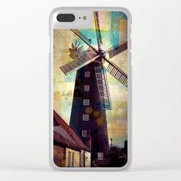 Waltham Windmill Clear iPhone Case