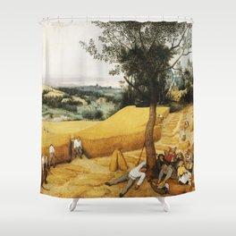 The Harvesters by Pieter Bruegel the Elder, 1565 Shower Curtain