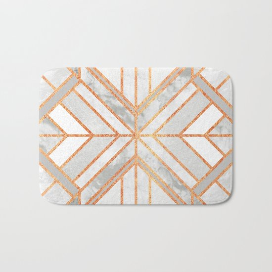 Geo Marble Dream Bath Mat