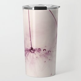 dandelion - pink blush Travel Mug
