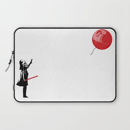 That's No Banksy Balloon (It's a Space Station) Laptop Sleeve