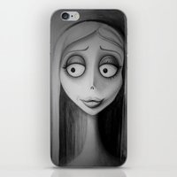 emily rickard iPhone & iPod Skins featuring Emily by Lynsie Petig