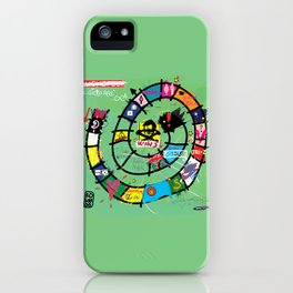 Gioco dell'Oca - The Game of the Goose (RDVM06) Limited Edition iPhone Case