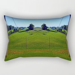 The way of power | landscape photography Rectangular Pillow