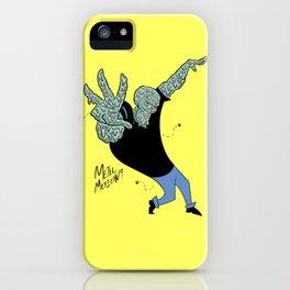 Handsome Squidward x Johnny Bravo iPhone Case