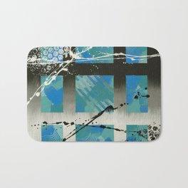 Blue Window Bath Mat
