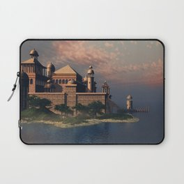Beautiful Fantasy Town Laptop Sleeve