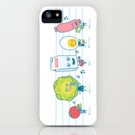 The Breakfast Song iPhone Case
