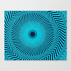 Circular Optical Illusion Canvas Print