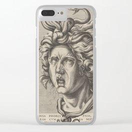 Medusa,16th Century Illustration Clear iPhone Case