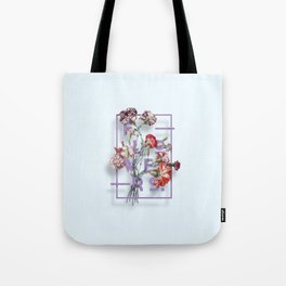 Flowers Bloom Botanicals Vintage Illustration Poster #3 Tote Bag