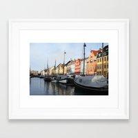 denmark Framed Art Prints featuring Denmark by Kayleigh Rappaport