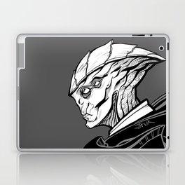 Javik - B&W profile Laptop & iPad Skin