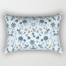 Bumbling and Busy Rectangular Pillow