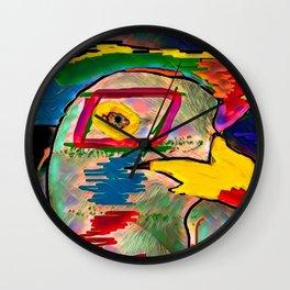 Rapacious Wall Clock