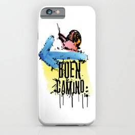 Buen Camino iPhone Case