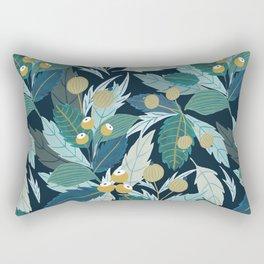 Midnight Folk Rectangular Pillow