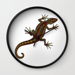 The Lizard Wall Clock