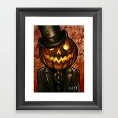 Dapper Jack Framed Art Print