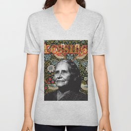 Doris Lessing Unisex V-Neck