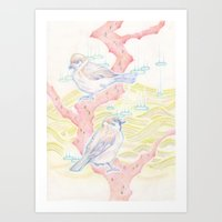 72(sparrow) Art Print