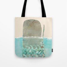 into the wild the whale Tote Bag