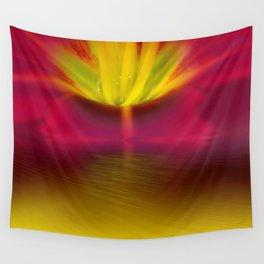 Light bloom Wall Tapestry