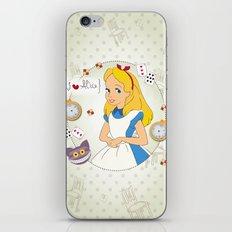 I {❤} Alice In Her Wonderland iPhone & iPod Skin