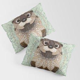 Ornate Otter Pillow Sham