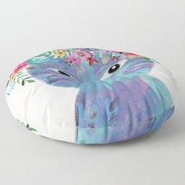 Flower cat II Floor Pillow