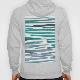 31   |  190408 Blue Abstract Watercolour Hoody
