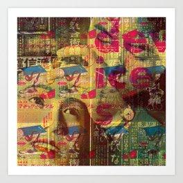 Devices Art Print