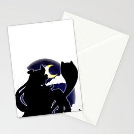 Chica de la noche Stationery Cards