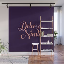 happy lettering motivation Wall Mural