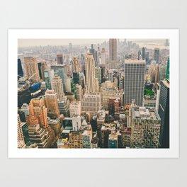 NEW YORK CITY II Art Print