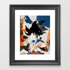 Son Goku - Digital Watercolor Painting Framed Art Print
