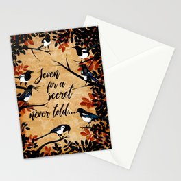Seven Magpies Stationery Cards