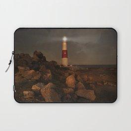 Evening Coast With Lighthouse Laptop Sleeve