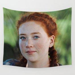 redhead II Wall Tapestry