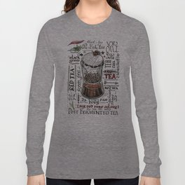 I love tea Long Sleeve T-shirt