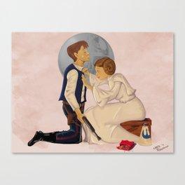 Go Rebels Go Canvas Print