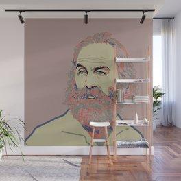 Walt Whitman Wall Mural