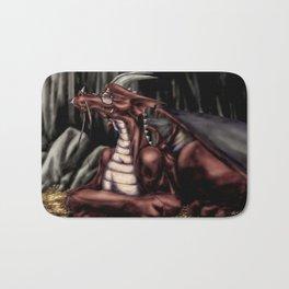 The Dragon's Cave Bath Mat