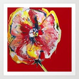 FLOWER WIFEY Art Print