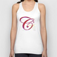 courage Tank Tops featuring Courage by ZooLN Art