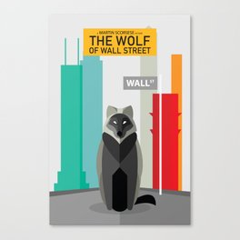 The Wolf of Wall Street Canvas Print