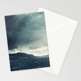 Madeira: moody coast line Stationery Cards